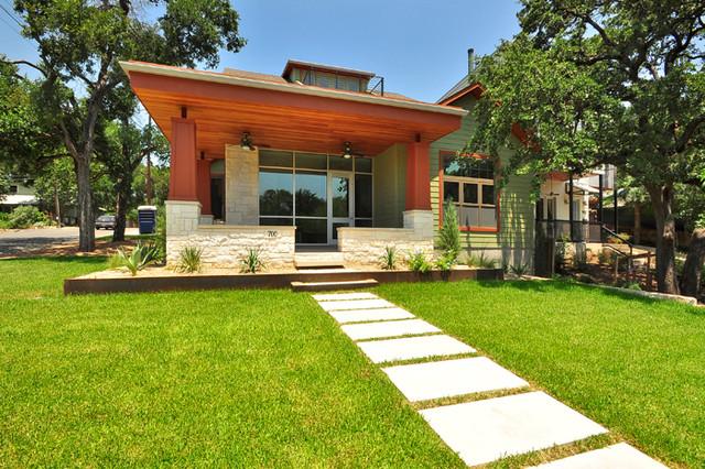 Exteriors by Gossett Jones Homes modern-exterior