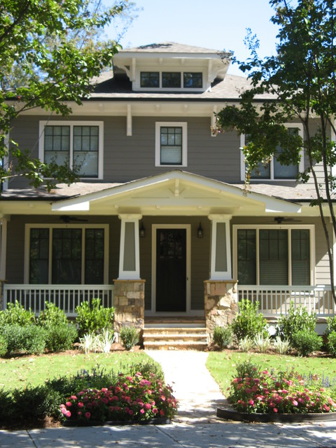 Exteriors craftsman style traditional exterior for Craftsman style homes atlanta