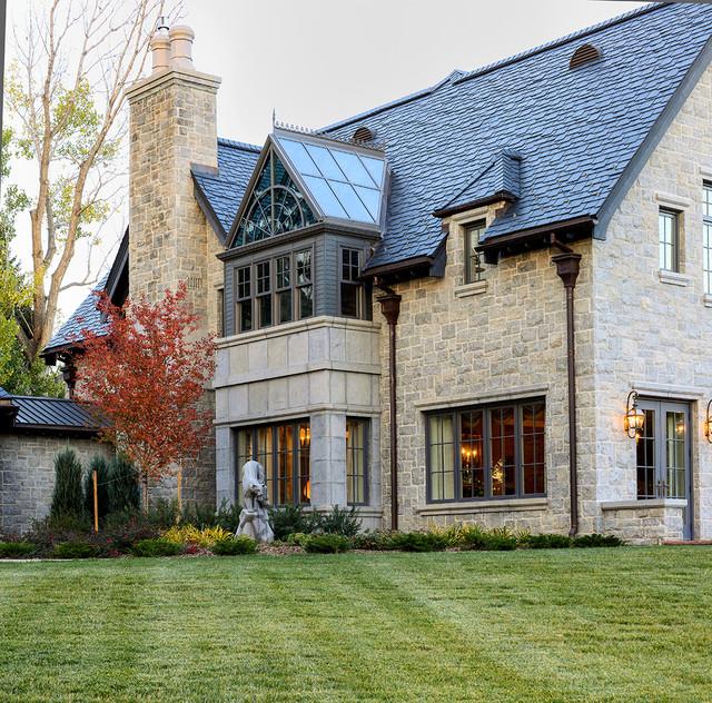 Traditional Exterior Homes: Exteriors