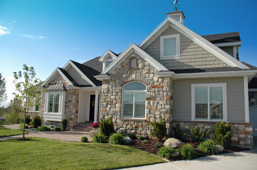 what is the exterior paint color and stone