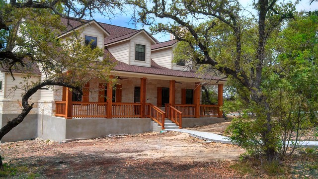Exteriors Traditional Exterior Austin By Kurk Homes