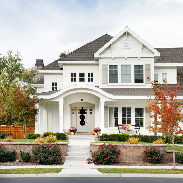 Exteriors traditional exterior salt lake city by for Classic house 2004