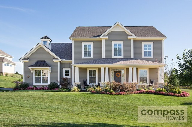 Exteriors of compass homes columbus ohio 39 s custom home for Central ohio home builders