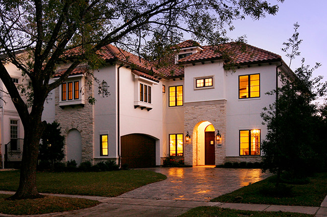 Exteriors for Contemporary home builders houston