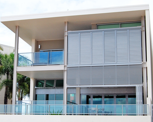External aluminium louvres shutters for Balcony louvres