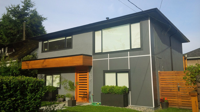 Facade renovation modern exterior other by drkdesign for House facade renovation ideas