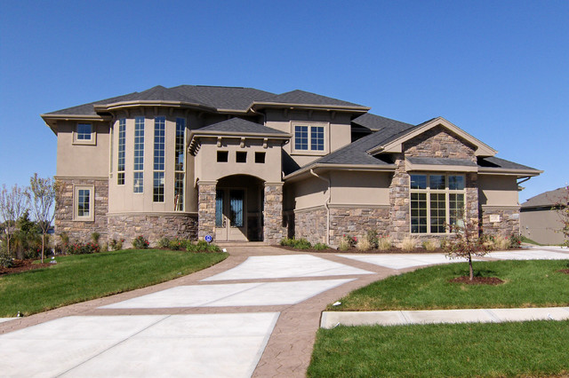 Mediterranean House Designs Exterior Fairchild  Mediterranean  Exterior  Omaha Advanced House Plans