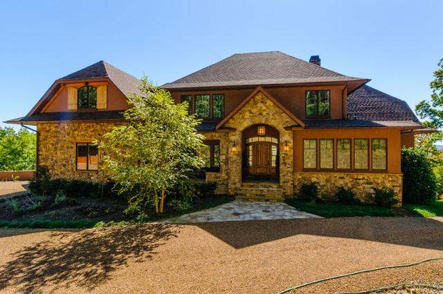 Fairview nc custom mountain home for Fairview custom homes