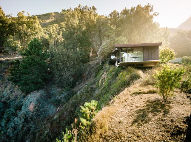 Fall House contemporary-exterior
