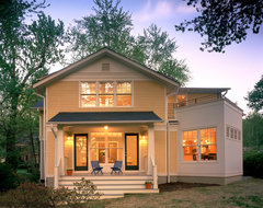 Falls Church Cottage traditional-exterior