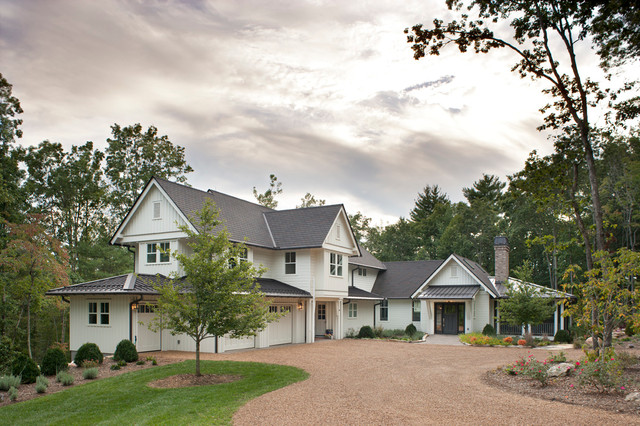 Family Home in The Ramble traditional-exterior