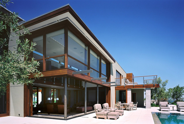 Family+Pool Terrace modern-exterior