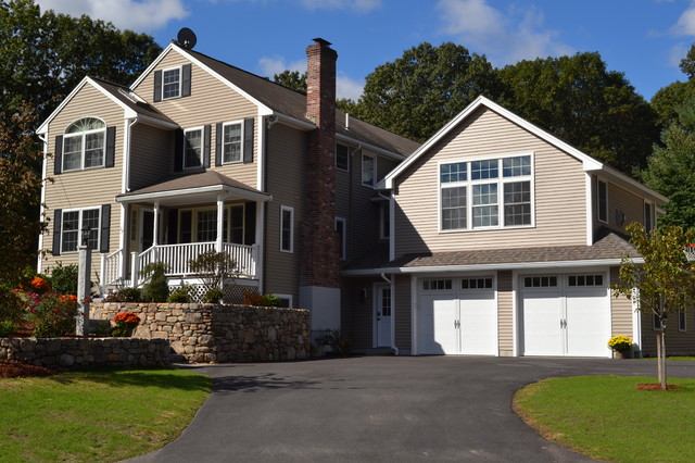 Family Room Over Garage Traditional Exterior Boston