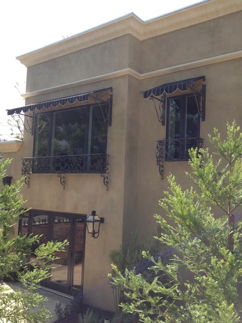 Fancy Spear Awnings - Traditional - Exterior - Los Angeles ...
