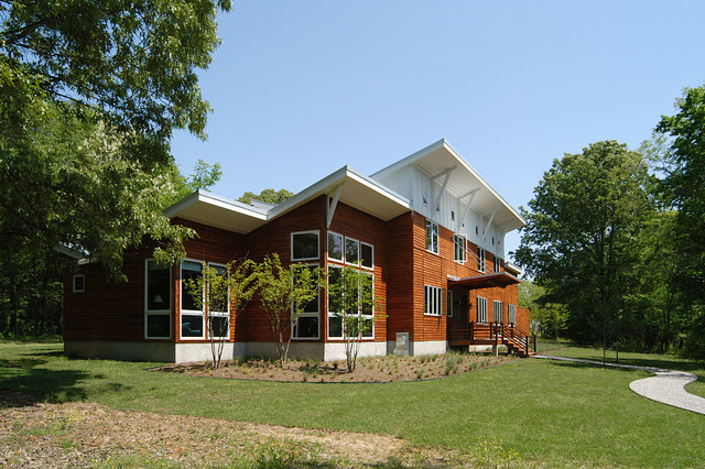 Farm House Fisherville Tn Contemporary Exterior
