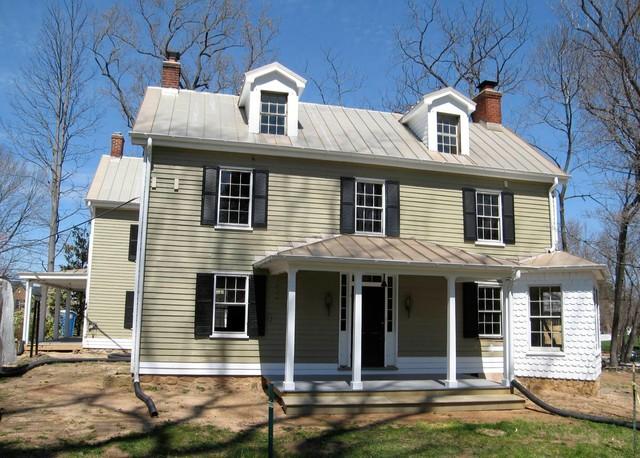 Farm House Restoration traditional-exterior