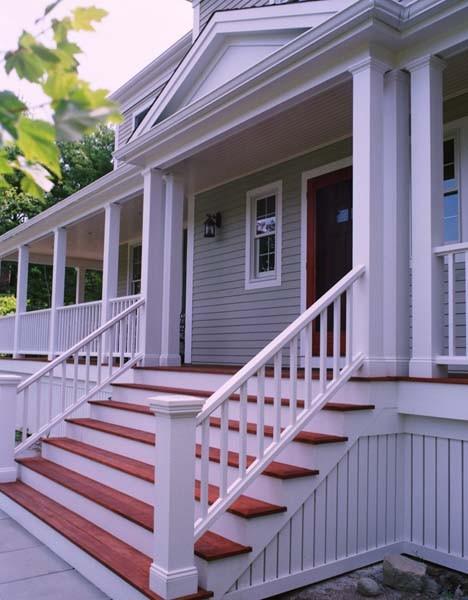 Farmers porch exterior facade for Farmers porch plans