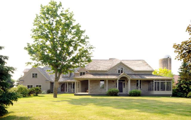 Farmhouse Addition Farmhouse Exterior Ottawa By