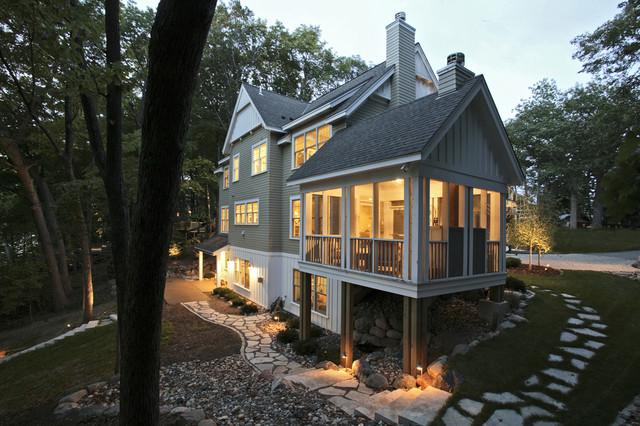 Farmhouse Cottage Exterior Farmhouse Exterior