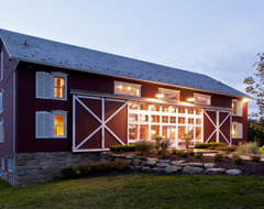 German-style Bank Barn Conversion traditional exterior