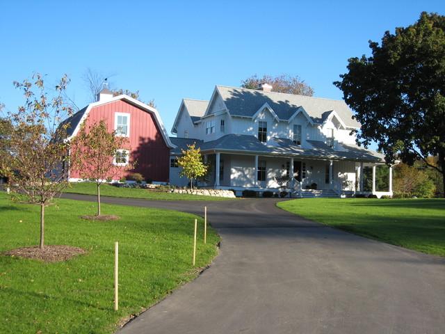 Exterior farmhouse-exterior
