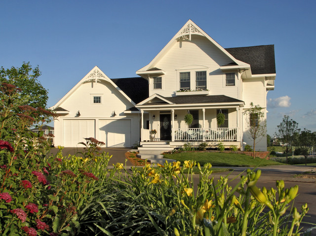 Farmhouse exterior traditional exterior minneapolis for American classic homes mn