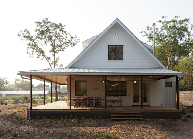 Prefabricated Porches prefab house porch | houzz