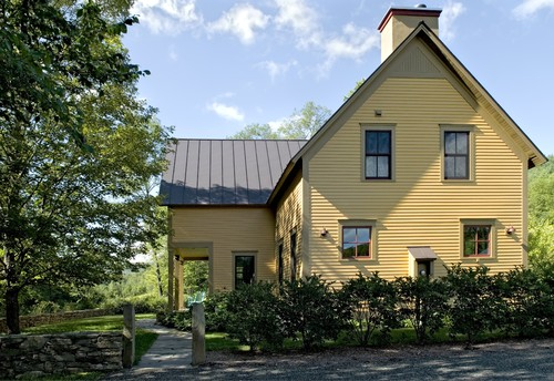Farmhouse Reinterpreted traditional exterior