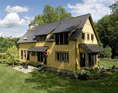 Farmhouse Reinterpreted farmhouse-exterior