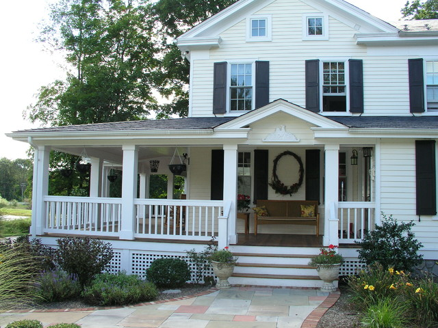 Farmhouse Renovation traditional exterior