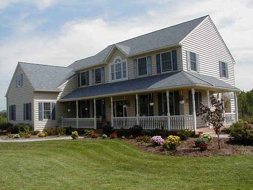 farmhouse exterior by perkasie design build firms david brooke rush builders - Farmhouse Exterior Colors