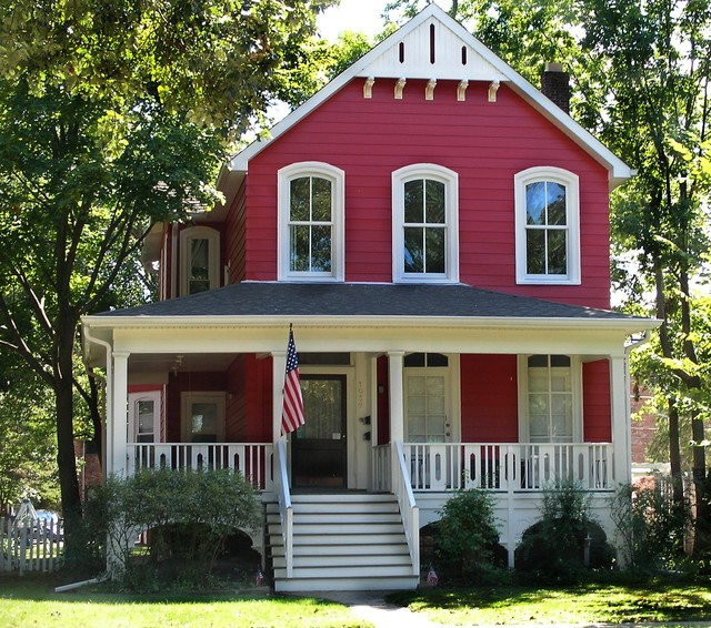 Farmhouse Transformation Victorian Exterior Chicago