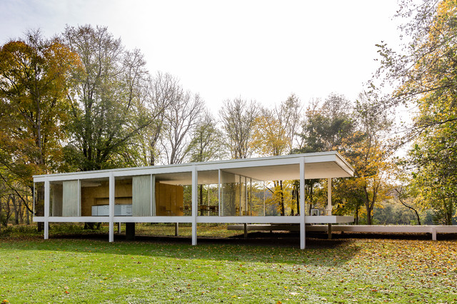 Farnsworth House Modern Exterior Other By Travis