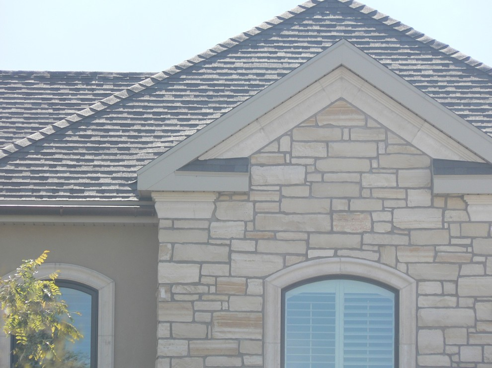 Faux Limestone Cornice Window Surround Traditional Exterior Salt Lake City By Design Stone Works