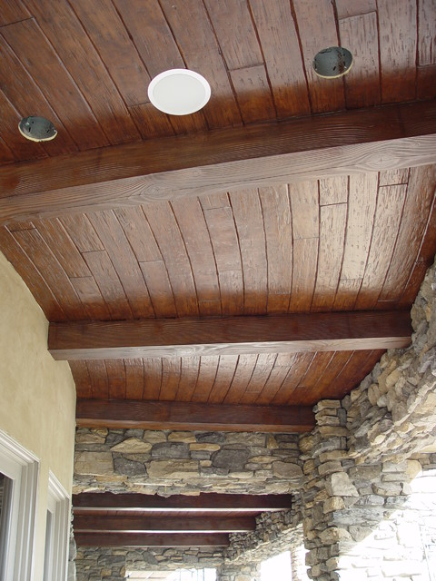 Faux Wood Beams By Realm Of Design Contemporary Exterior Las Vegas By