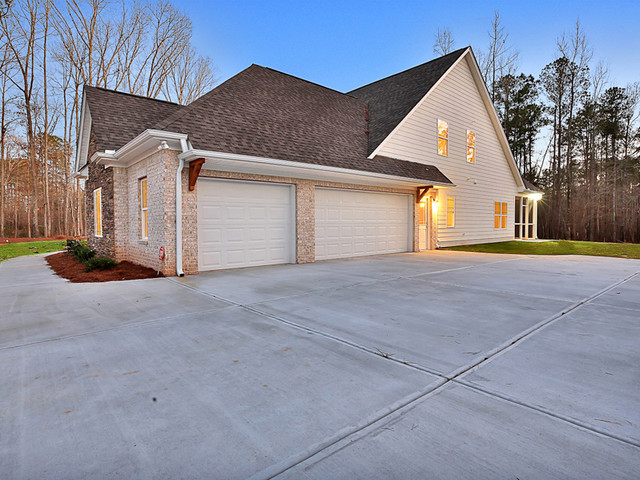 Fayetteville, GA New Construction traditional-exterior