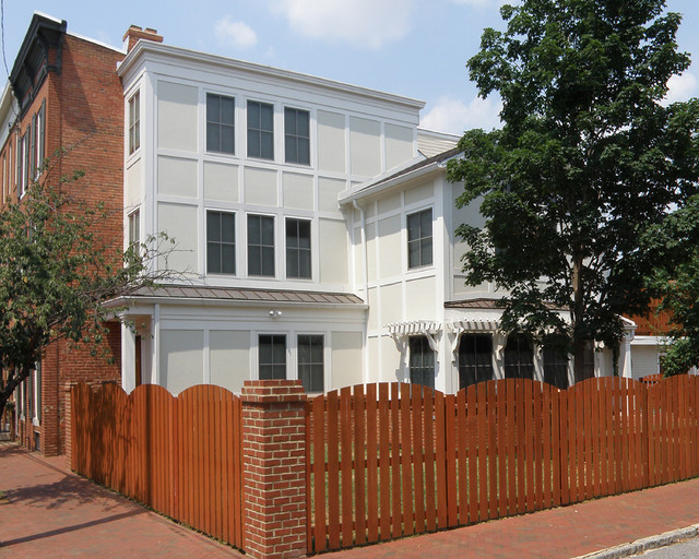 Federal Hill Townhome Transitional Exterior Baltimore By Marren Architects