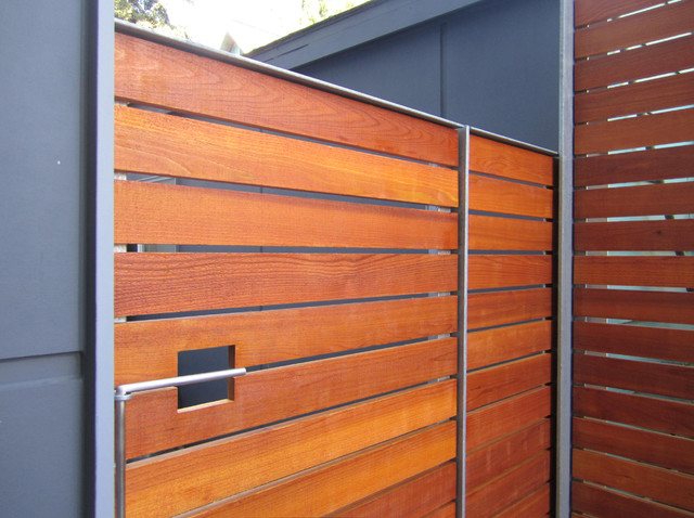 Fences Gates And Guardrails Modern Exterior
