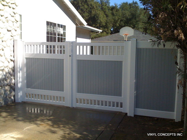 Fencing And Gates Traditional Exterior Los Angeles