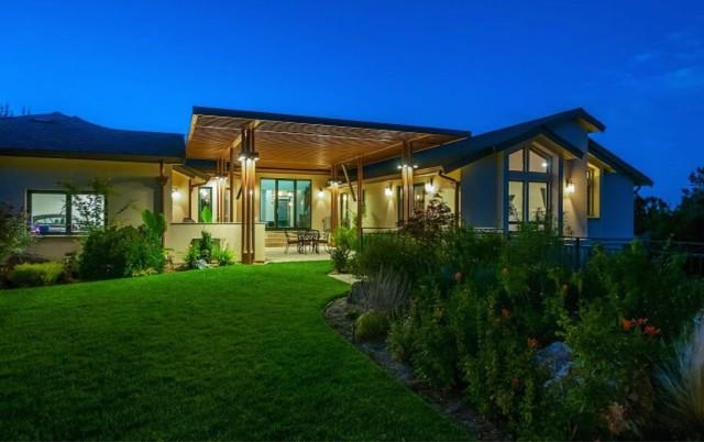 feng shui dream home in hillsborough contemporary exterior san. Black Bedroom Furniture Sets. Home Design Ideas