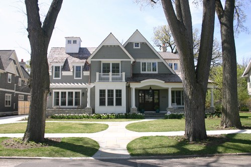 nantucket style home in chicago - Nantucket Style House