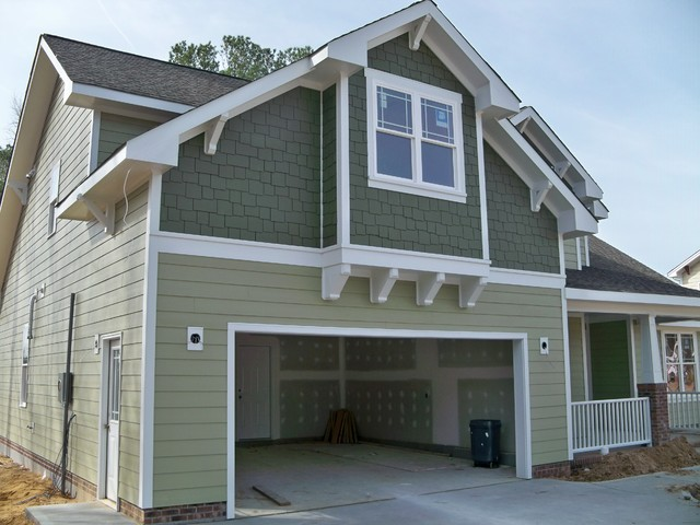 Fiber cement siding craftsman exterior raleigh by for Modern fiber cement siding
