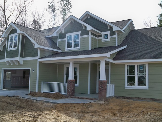 Fiber Cement Siding Craftsman Exterior Raleigh By