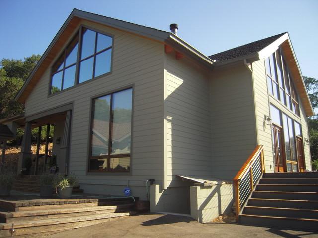 Fiber Cement Contemporary Exterior Sacramento By 3 Generations Improv