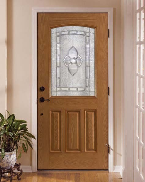 Fiberglass & Steel Doors traditional-exterior