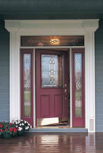 Steel doorse fiberglass or steel front door for Fiberglass front doors