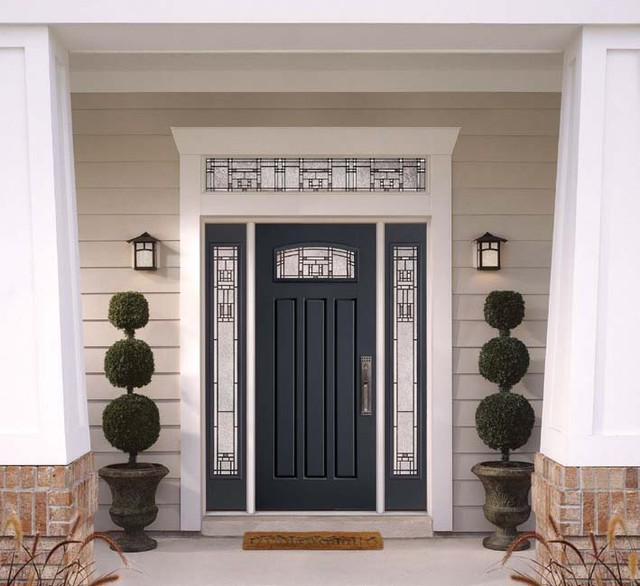 Superbe Fiberglass U0026 Steel Doors Traditional Exterior
