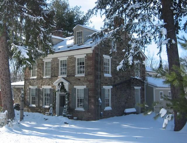 Fieldstone Hill farmhouse-exterior
