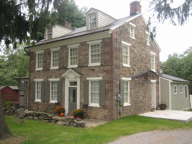 Fieldstone Hill Farmhouse Exterior Wilmington By