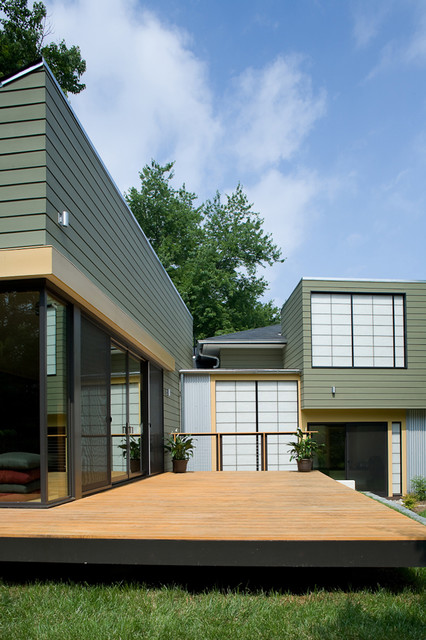 fifties split modern exterior